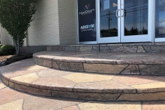 colored concrete patio installer chicago