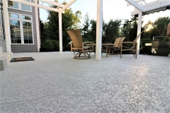 spray knockdown finish patio chicago