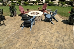 stamped concrete patio chicago