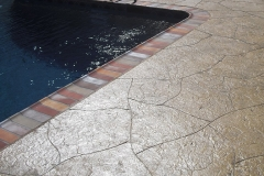 stamped concrete pool deck chicago