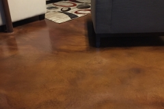 basement stained concrete chicago