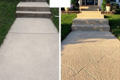 concrete walkway repair chicago