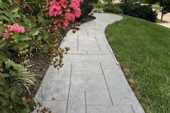 decorative concrete walkway chicago