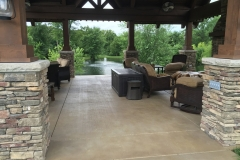 stained concrete patio chicago