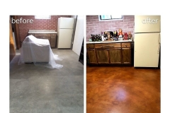 staining concrete floors chicago