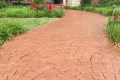 stamped concrete walkway chicago