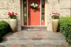 stamped concrete front entry chicago