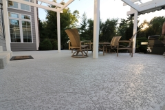 trowel finish patio orange county