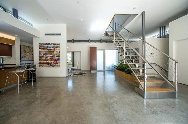 concrete interio floors